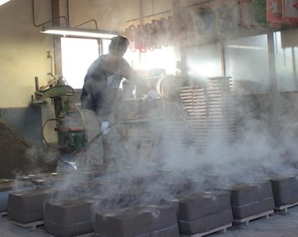 自社工場の鋳物屋の強み